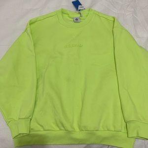 like green sweater - adidas